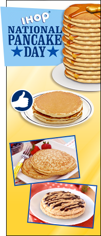 IHOP Free Pancake Day and HG Alternatives