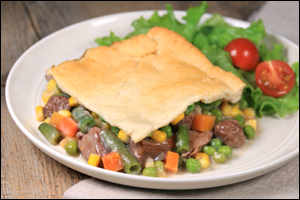 Hungry Girl's Big Beef Pot Pie
