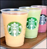 Starbucks Debuts Greek-Yogurt Smoothies