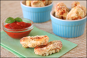 Hungry Girl's Gooey Mozzarella Sticks