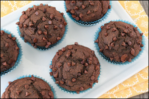 Hungry Girl's Double Chocolate Muffins