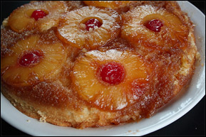 Pineapple Upside-Down Cake, Average