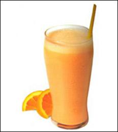 Orange Cream Shake/Smoothie, Average