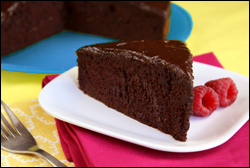 HG's Chocolate-on-Chocolate Frosted Cake