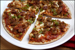 HG's Sausage-Topped Pizza Swap