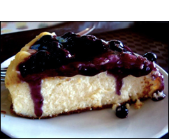 Cheesecake with Fruity Topping, Average