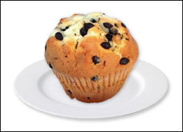 Chocolate Chip Muffin, Average