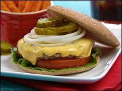 HG's Chief of Beef Cheeseburger