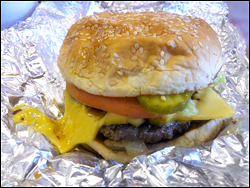 Cheeseburger, Average