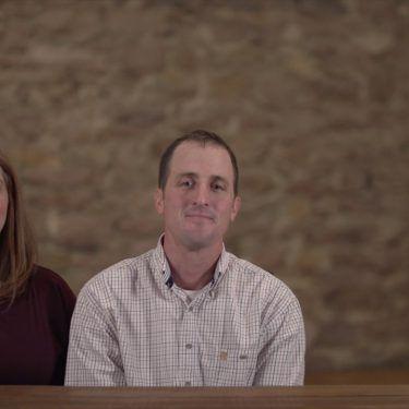 South Dakota farmers Morgan and Jason Kontz.