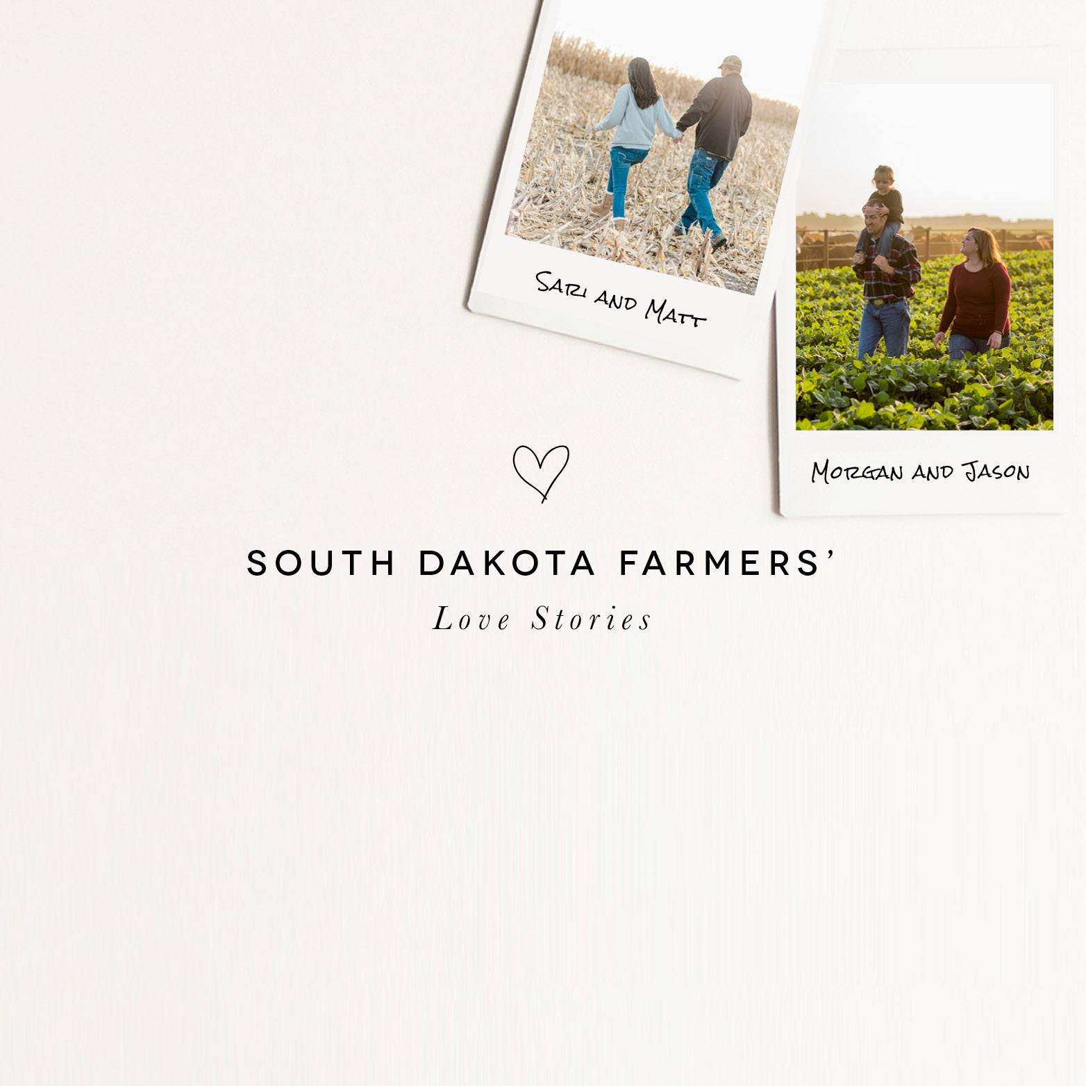 South Dakota farmers' love stories