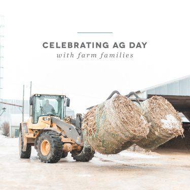 Celebrating Ag Day with Farm Families