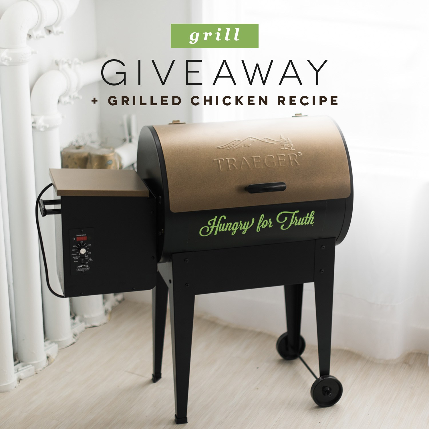 Hungry for Truth Trager Grill Giveaway