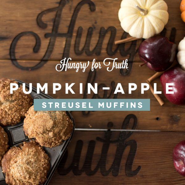 hungry for truth south dakota recipe pumpkin streusel muffins easy to make dessert pumpkin spice gmo non gmo conventional organic agriculture farming production practices family friendly holiday recipes