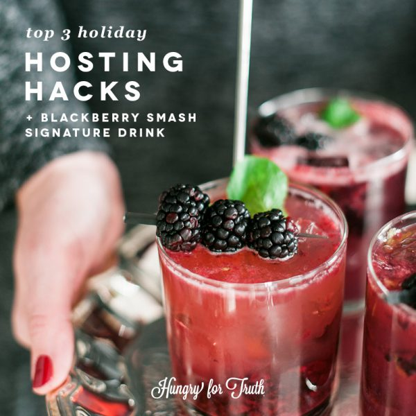 hungry for truth south dakota agriculture farming organic conventional gmo non gmo production practices farming family holiday hosting hacks easy drink recipe how to host holiday party signature cocktail recipe bourbon addie graham-framer the event company Sioux Falls South Dakota