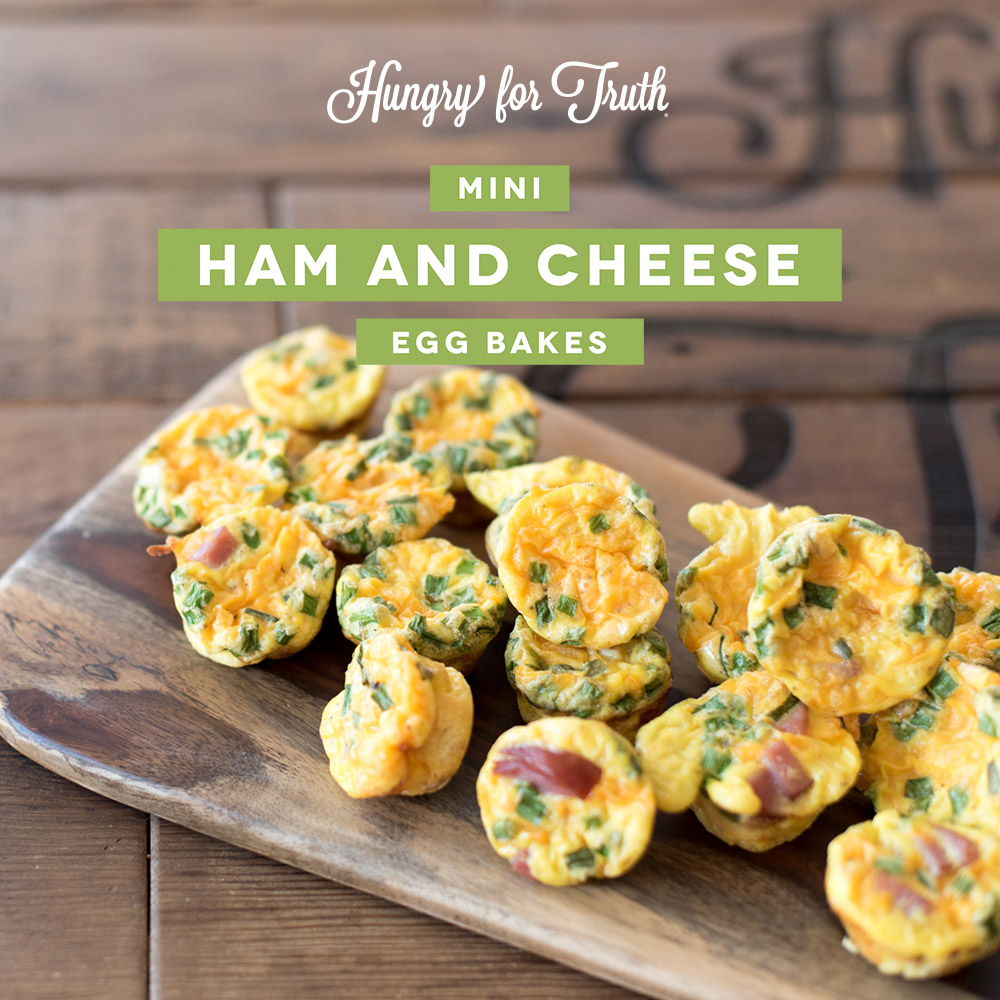 hungry for truth easy breakfast recipes mini ham and egg bake south dakota gmo non gmo organic conventional pesticide sustainability agriculture