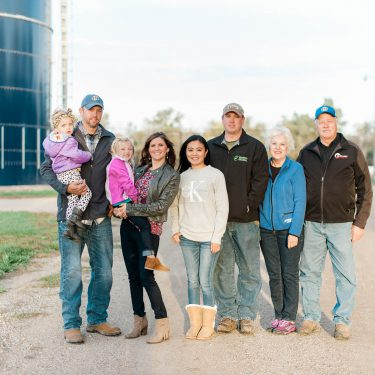 South Dakota farm family.
