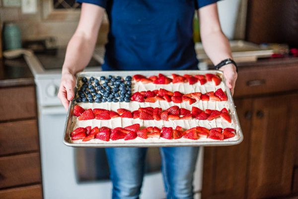 Hungry for Truth 4th of July Fruit Pizza Farmer Recipe