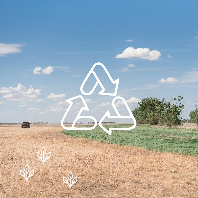 South Dakota farmers find innovative ways to recycle on the farm.