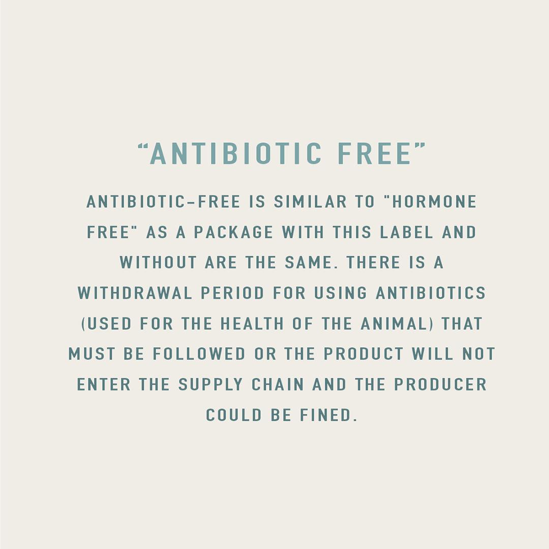antibiotic-free