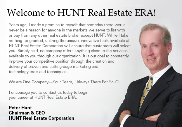 Welcome to HUNT Real Estate ERA!