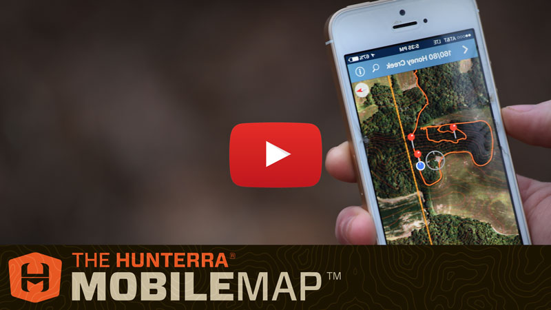 HUNTERRA Map The Hunt - Current aerial maps