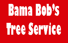 Website for Bama Bob's Tree Service