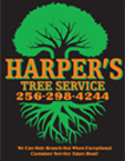 Website for Harper's Tree Service