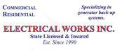 Website for Electrical Works, Inc.