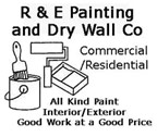 Website for R & E Painting & Drywall, Inc.