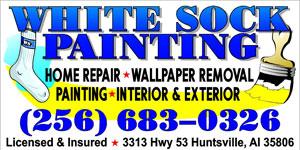Website for White Sock Painting LLC
