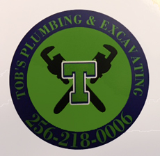 Website for Tob's Plumbing and Excavating
