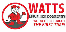 Website for Watts Plumbing Company