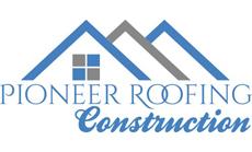 Website for Pioneer Roofing, Inc.