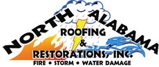 Website for North Alabama Roofing & Restorations, Inc.