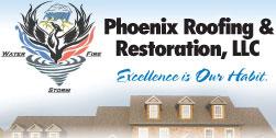Website for Phoenix, LLC Roofing & Restoration