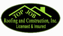 Website for Top Job Roofing and Construction, Inc.