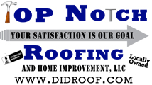 Website for Top Notch Roofing & Home Improvement LLC