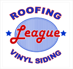 Website for League Roofing, Siding & Replacement Windows