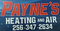 Website for Payne's Heating & Air
