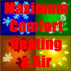 Website for Maximum Comfort Heating & Air