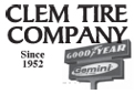 Website for Clem Tire Company
