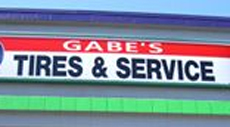 Website for Gabe's Tire & Towing, LLC