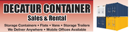 Website for Decatur Container Sales & Rental