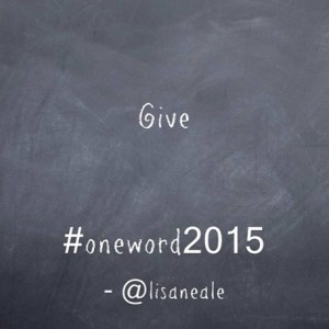Give One word 2015