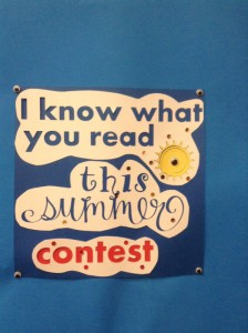 I know what you read Contest