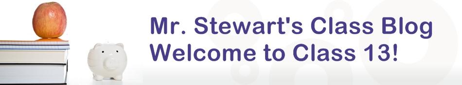 Mr. Stewart's class blog