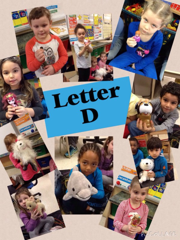 letter d | kinderkorner