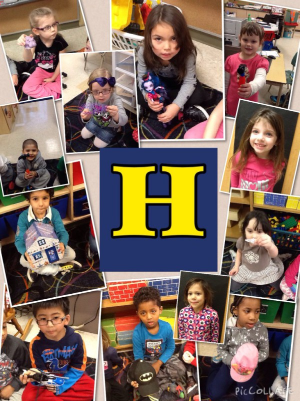 show and tell letter h