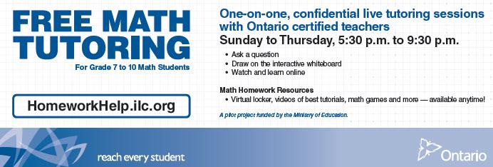 Homework help grades 7-10